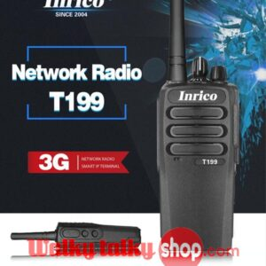 Inrico T199 Network Two Way Radio Global Intercom SIM Card Wifi 3G