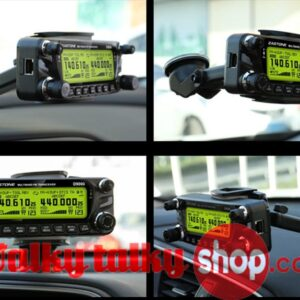 Suction Mount with Panel for Vehicle Radio