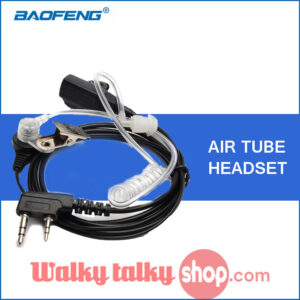Baofeng Acoustic Air Tube Headset For UV-5R BF-888S