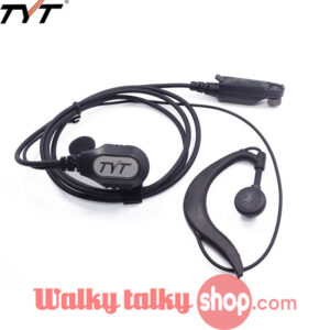 Waterproof DMR Digital Walkie Talkie Headset for TYT MD-2017 MD-398 RT82 GD-55
