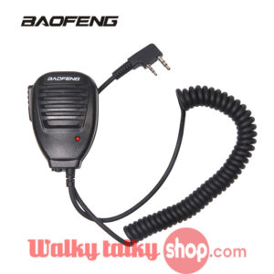 Baofeng Hand Speaker MIC for BF-888S 5R UV82 8D 5RE 5RA