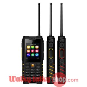 ioutdoor T2 Network Radio Phone Keypad Unlocked Walkie Talkie UHF IP68
