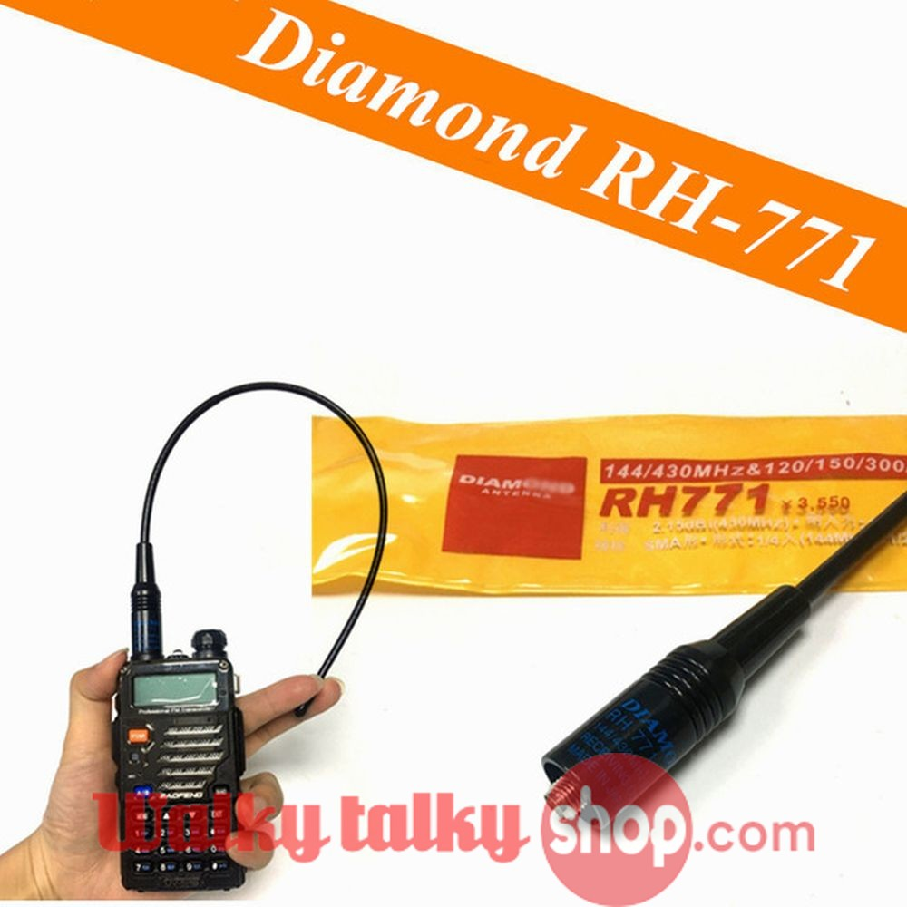 For Kenwood Nagoya NA-771 SMA Dual Band Radio Antenna TK-2107  TK-2118  TK-2160