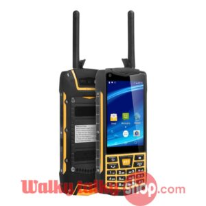 N2 Rugged Phone Android 6.0 Zello Walkie Talkie Touch Screen IP68