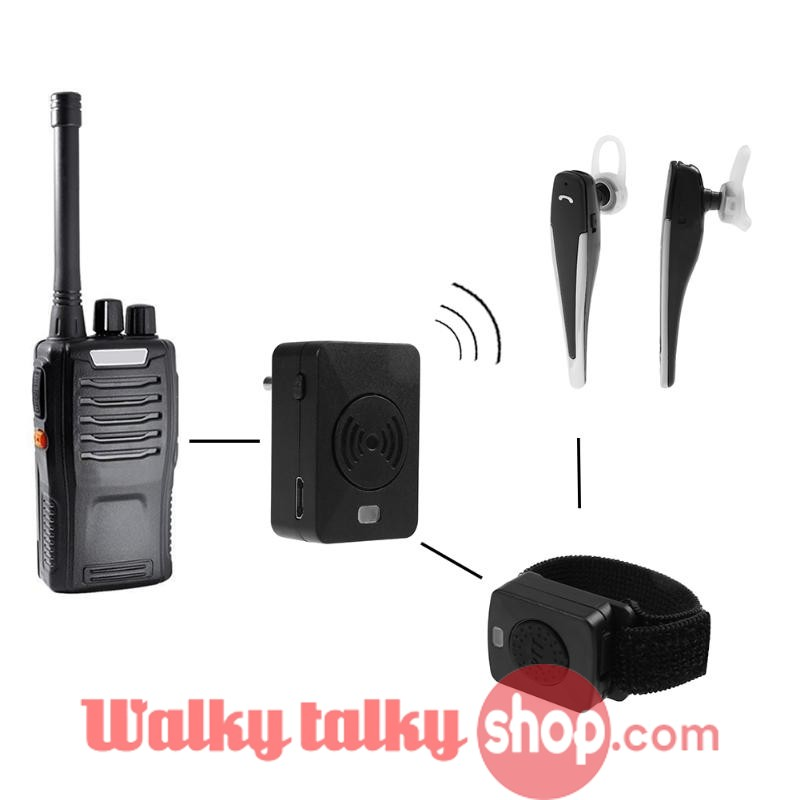 Bluetooth Hands Free Walkie Talkie Wireless Headset 2 Way Pin Plug K M Type Two Way Radio Walkie Talkie Walky Talky Android Phone