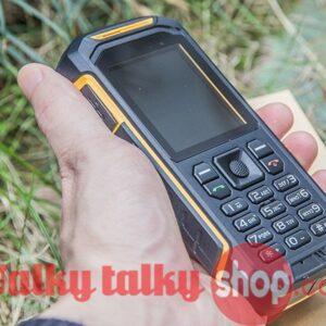 X6 IP68 Dual SIM Card FM GSM PTT Walkie Talkie Phone for Outdoor Logistics