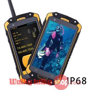 IP68 Waterproof Military Rugged Smart Phone Android PTT Walkie Talkie
