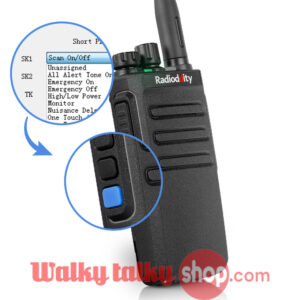 Radioddity GD-77S Dual Time Slot Professional Dual Band DMR Radio