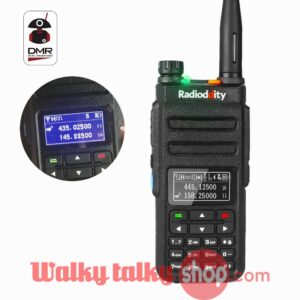 Radioddity GD-77BB Dual Band Dual Time Slot Inverted Display Digital DMR Radio