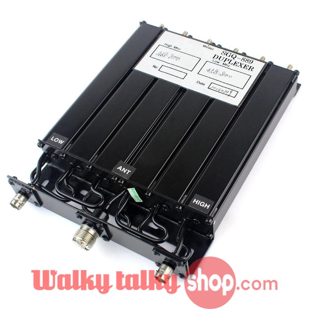 Ham Radio Repeater Duplexer 25W SGQ-889 SL16 UHF-M Connector