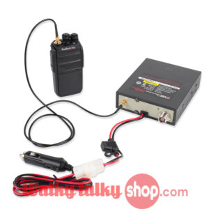 Radioddity VGC VR-P25U Power Amplifier for Walkie Talkie UHF 20-40W Output
