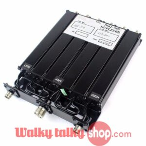 25W UHF 6 Cavity N-Connector Base Radios Repeater Duplexer