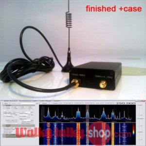 Finished Case RTL-SDR Receiver 100KHz-1.7GHz Full Band UV HF USB Tuner