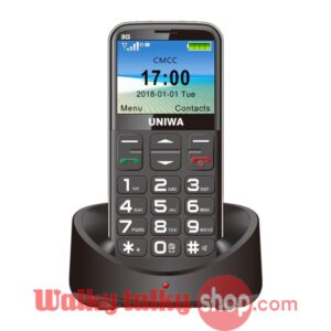 UNIWA V808G 2.31 Inch Curved Screen 3G Old Man Mobile Phone