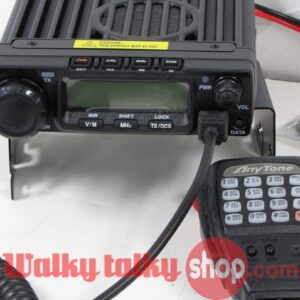 Anytone AT-588 2m 70cm Max 60W 4 Single Band Vehicle Mounted CB Radio