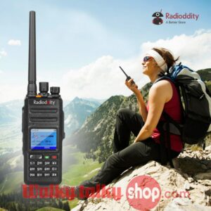 Radioddity GD-55 Plus UHF 10W IP67 Waterproof Digital/Analog Ham Radio