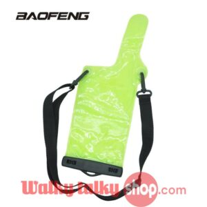 Handheld Radio Green Generic Rainproof Protect Case Bag