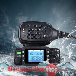 NEW Version TYT TH-8600 25W Waterproof VHF UHF Dual Band Mini Vehicle Radio