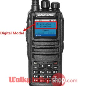 Porfung Baofeng DM-1701 Dual Band DMR Digital 2-way Radio
