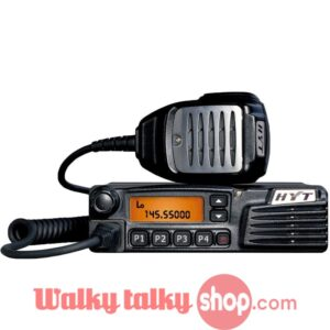 Newest HYT TM-610 25W VHF 136-174MHz UHF 400-470 MHz Mobile Radio