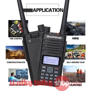 2PCS 2019 Baofeng DM-1801 Digital DMR Radios Compatible With Motorola