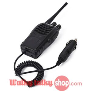BEST Baofeng Car Charger Battery Case Eliminator 888S 777S 666S Radios