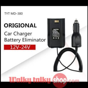 Latest DMR Radios TYT MD-380 MD-UV380 Car Charger Battery Eliminator