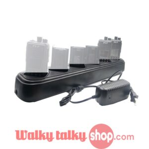 Tytera 6 Way Charger for TYT MD380 MD-380 MD280 Plus DP290 Retevis RT3