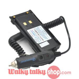 Wouxun KG-UV9D Plus UV9D Car Charger Eliminator Battery Case