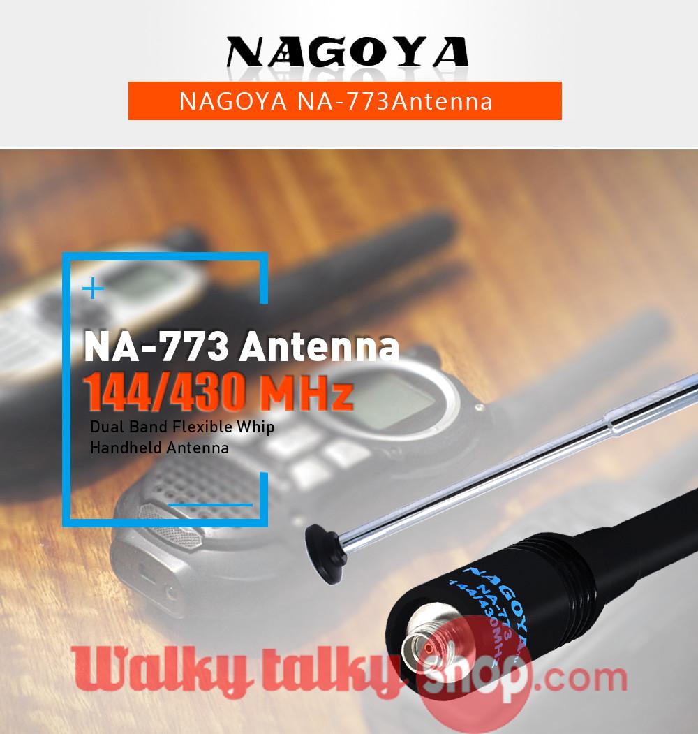 NAGOYA NA-701 SMA-F144//430MHz Dual Band Antenna for baofeng UV-5Rplus Radio US