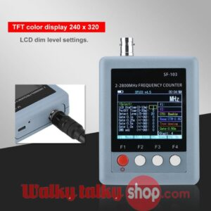 High Quality SF103 2 -2800MHz Four Buttons Small Portable Frequency Counter