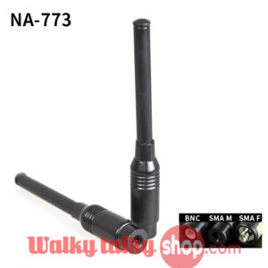 Yaesu Vertex TYT Radio Nagoya NA-773 SMA-Male Dual Band Telescopic Antenna