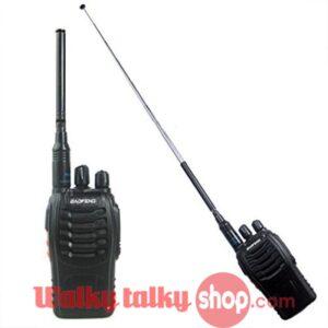 High Quality Nagoya NA774 Dual Band 144/430MHz SMA Telescopic Radio Antenna