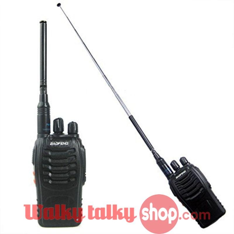 NA-774 SMA-M UHF+VHF Foldable Telescopic Antenna for UV-3R TYT TH-UV3R TH-UVF9