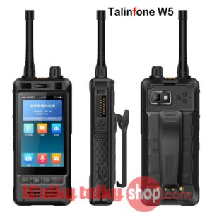 Talinfone W5 IP67 UHF 400-470MHz Zello PTT Android 3G Smartphone