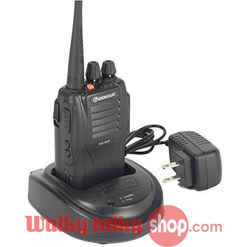WOUXUN KG-833 VHF 136-174 handheld two way FM radio