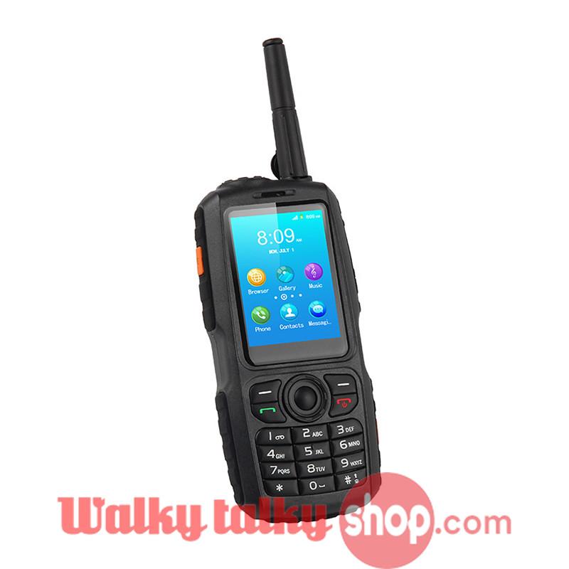 Portable WIFI Two Way Walkie Talkie Radio Android Dual SIM Mobile Phone USB// TF