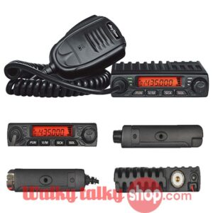 Anytone AT-779 Tiny Size UHF VHF Vehicle Mouted Mobile Radio