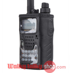 CSC-91 Leather Soft Case Holder for YAESU VX-6R VX-6E walkie talkie