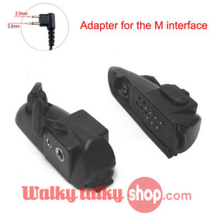 Walkie Talkie Audio Adapter 2Pin M Interface Headset Port