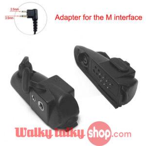 Walkie Talkie Audio Adapter 2Pin M Interface Headset Port