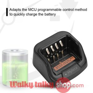 CH10A07 Rapid Charger MCU 12V DC 1A 850mAh for Hytera Two Way Radio