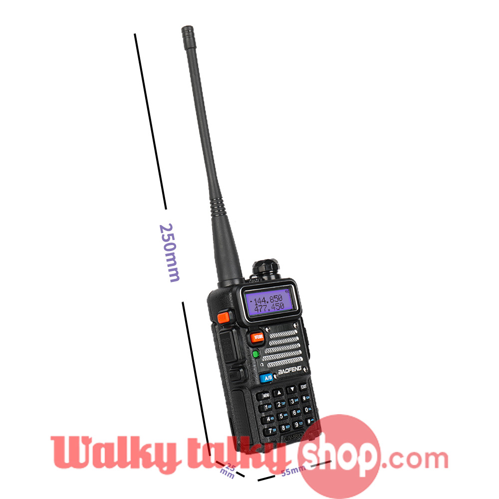 Baofeng UV-5RX3 VFO PC Programming Tri-Band Radio