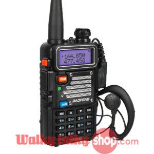 Baofeng UV-5RX3 VFO PC Programming Tri-Band Radio