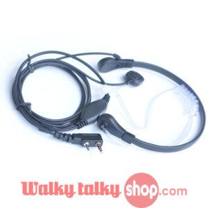 Throat Mic Vibration Earphonefor Baofeng BF-888S UV-5R etc Radios