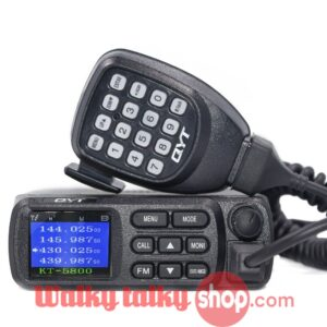 QYT KT-5800 12/24V Dual Band Mini Mobile Radio for Car Truck