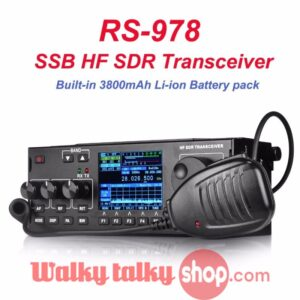 NEW RS978 SSB HF SDR CB Mobile Radio 3800mAh Battery Pack
