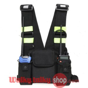 2019 Handsfree Radio Chest Bag Vest Pocket Pouch