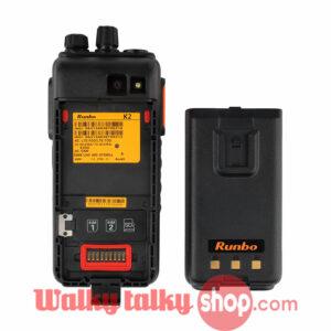 Runbo K2 Waterproof VHF UHF 4G DMR Smartphone