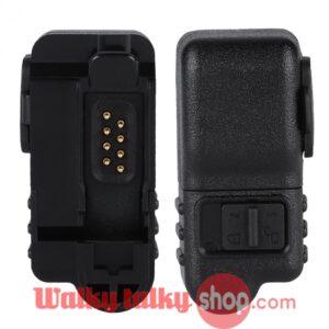 Walkie Talkie Earphone 2-pin Audio Adaptor for Motorola